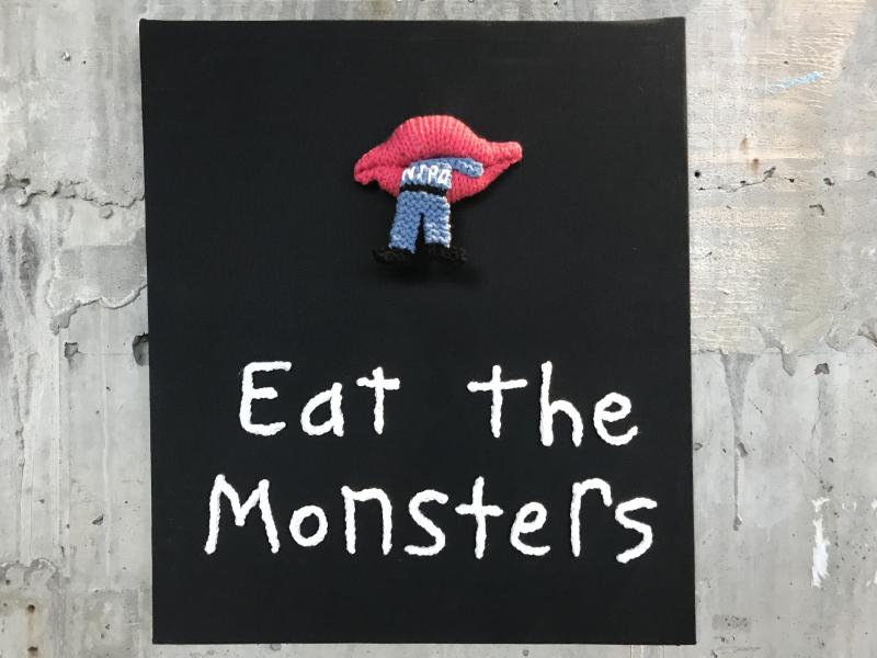 Ellie d'Eustachio  Eat the Monsters #10