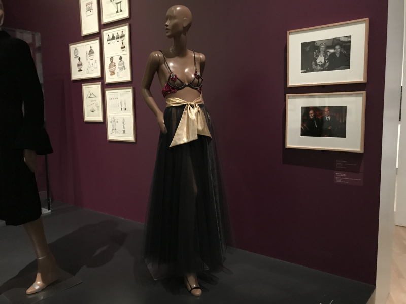 IMG_4681 Velvet  lame  rhinestone dress  Zandra Rhodes  circa 1979