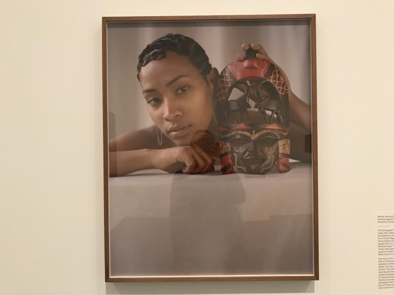 John Edmonds  Tête de Femme (Portrait of Ladin)  2018