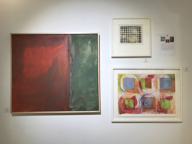 Art Over Time_Daniel McDonald_Clinton Hill Red Green_1 on 1_Six Over Six