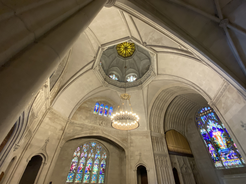 Historic Chapel at Green-Wood Cemetery_interior_by Nathan Haselby