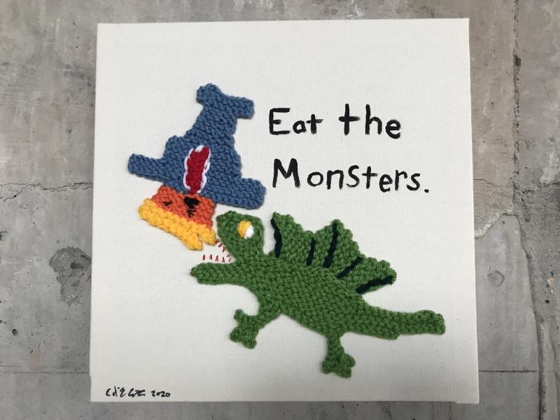 Ellie d'Eustachio  Eat the Monsters #11  2020