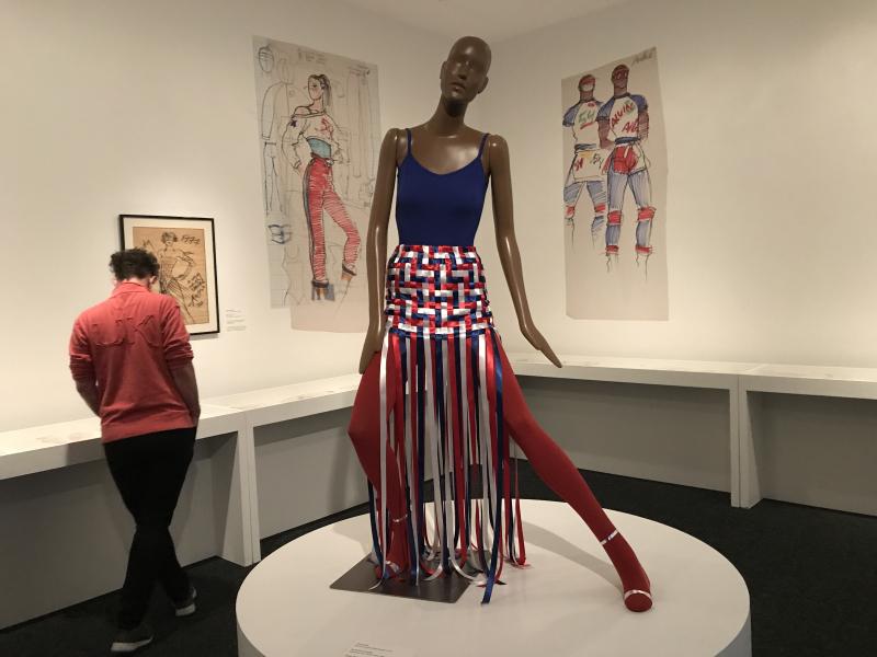 IMG_4382 Fiorucci Ribbon Skirt  Antonio Lopez and Juan Ramos  1977; remade 2019