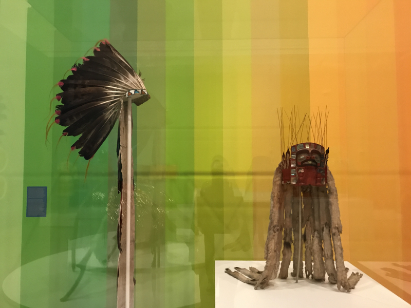 War bonnet_Plains region  Tsimshian headdress_NW Coast