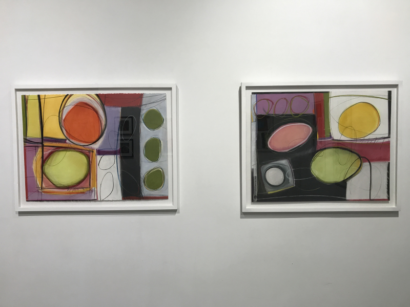 Jo-Ann Acey  Full Circle No. 8 and No. 4