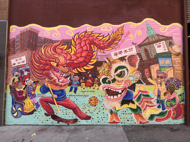 Chinatown Mural Project_140 East Broadway