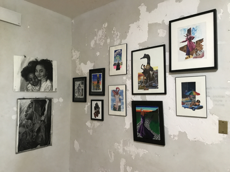 Works by Michael Obele and Melissa Sutherland Moss