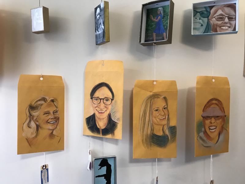 Portraits of Marcia Bricker Halperon_Dalienne Majors_Lori Jorgenensen_Elise Long
