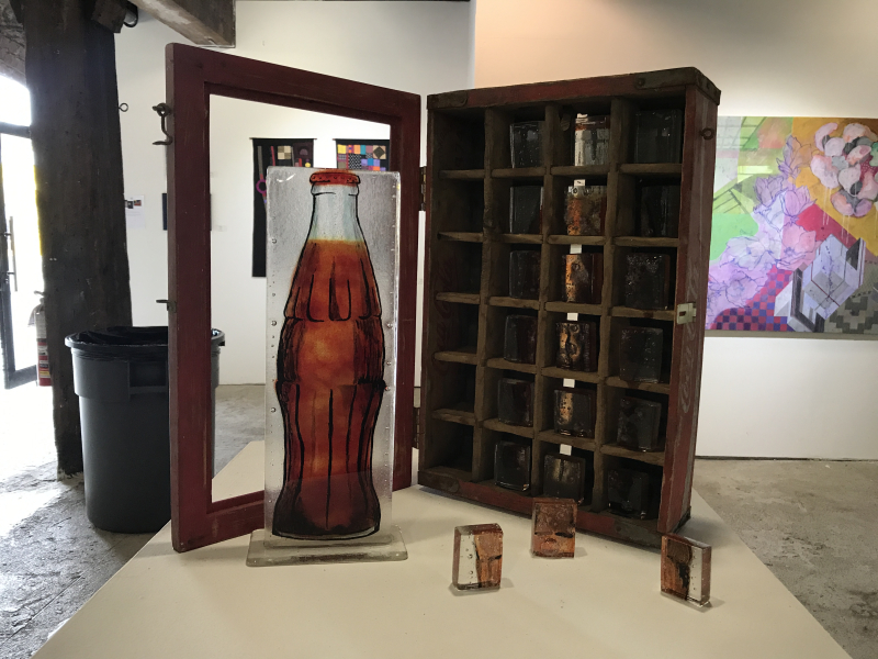 Art Over Time_Renee Radenberg_Memories-Coke Case_Elizabeth Casquiero_Do You Want to Meet at My Place