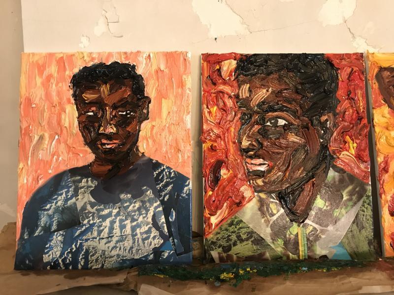 Mario Joyce_ArtCrawl Harlem's Governors Island residency 3